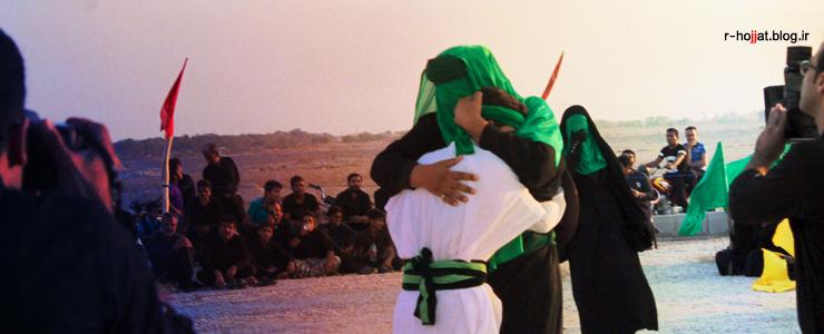 38 عکس از تعزیه حضرت قاسم (ع) در شهر بردخون +فیلم