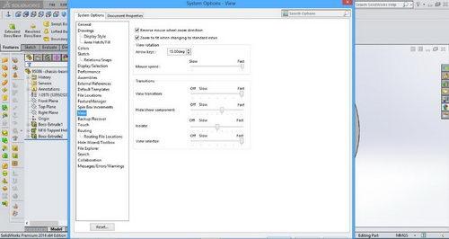 تغییر و تنظیم جهت اسکرول موس در بخش تنظیمات سالیدورک