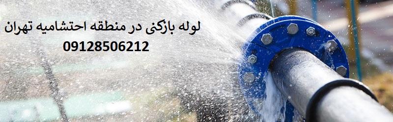 لوله بازکنی در احتشامیه تهران بطور فوری و تضمینی