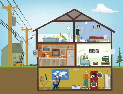 ترتیب انجام کارهای برق ساختمان