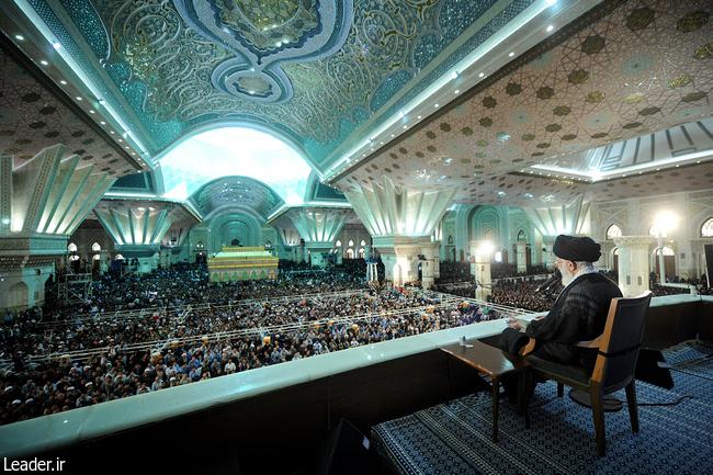 سخنان رهبری در 14 خرداد 95
