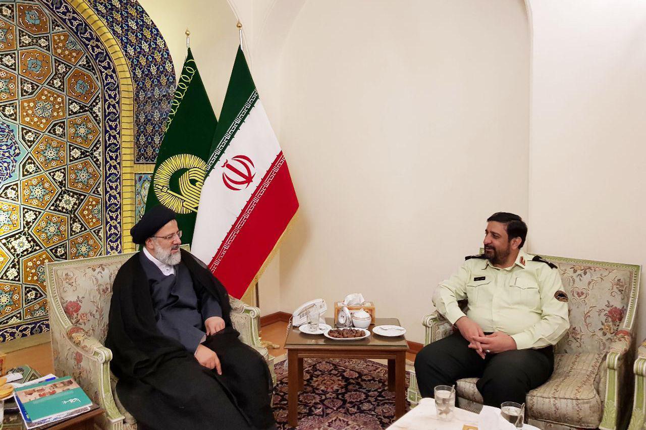 فرمانده جدید نیروی انتظامی خراسان رضوی با تولیت آستان قدس رضوی دیدار کرد