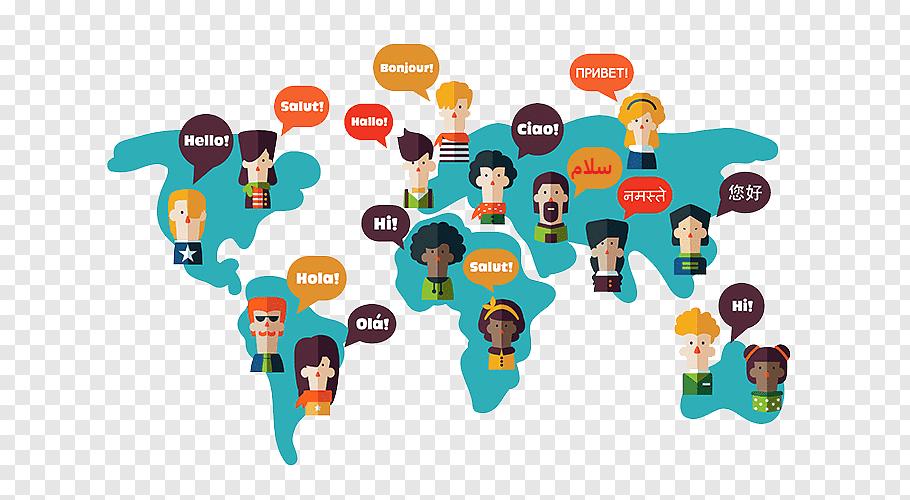 مردم هر جایی به یک زبان صحبت میکنن، اگر درخواستی از آنها داریم باید به زبان آنها صحبت کنیم.