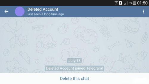 آموزش حذف حساب کاربری تلگرام - حذف اکانت Telegram