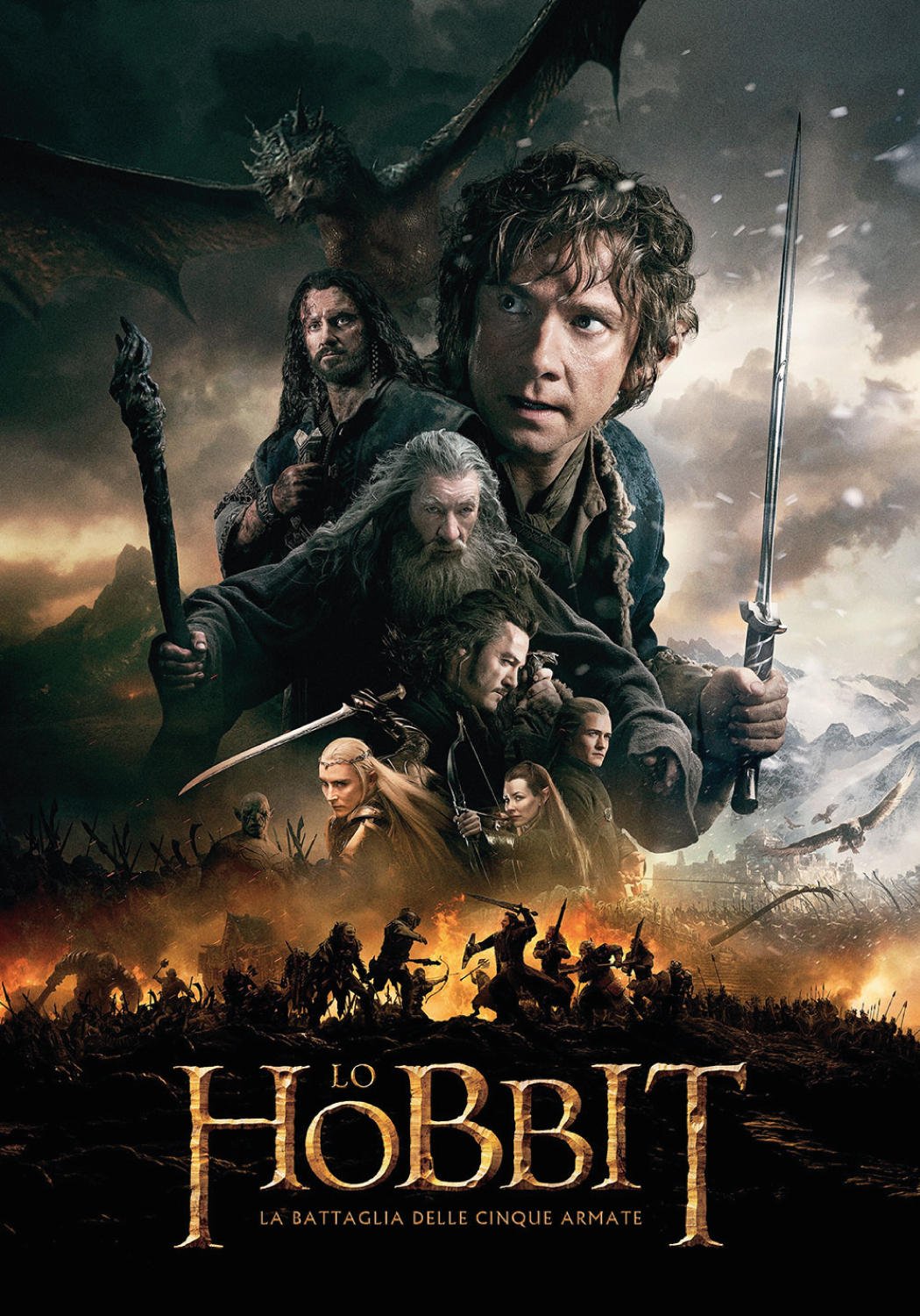 دانلود فیلم The Hobbit: The Battle of the Five Armies 2014