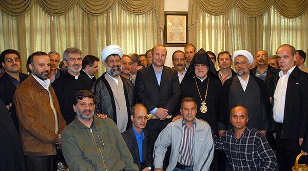 حضور در جمع ایثارگران ارمنی به مناسبت آغاز سال نو میلادی
