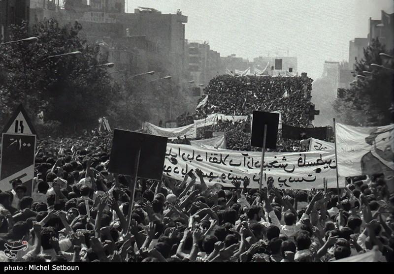 تظاهرات میلیونی مردم علیه شاه خائن