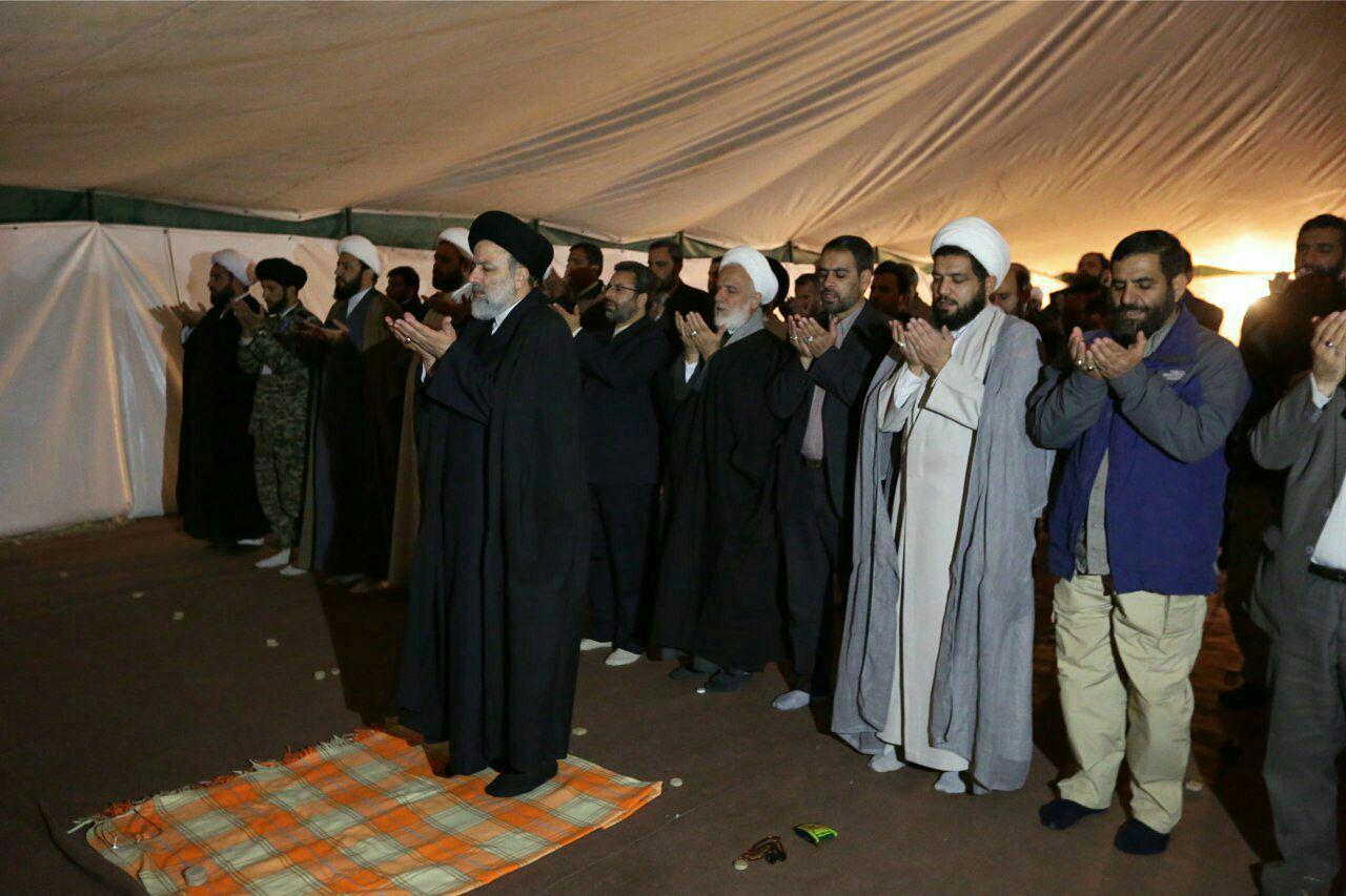 حجت الاسلام رئیسی: وظیفه شرعی وانسانی مامسئولان کمک به مردم آسیب دیده است.