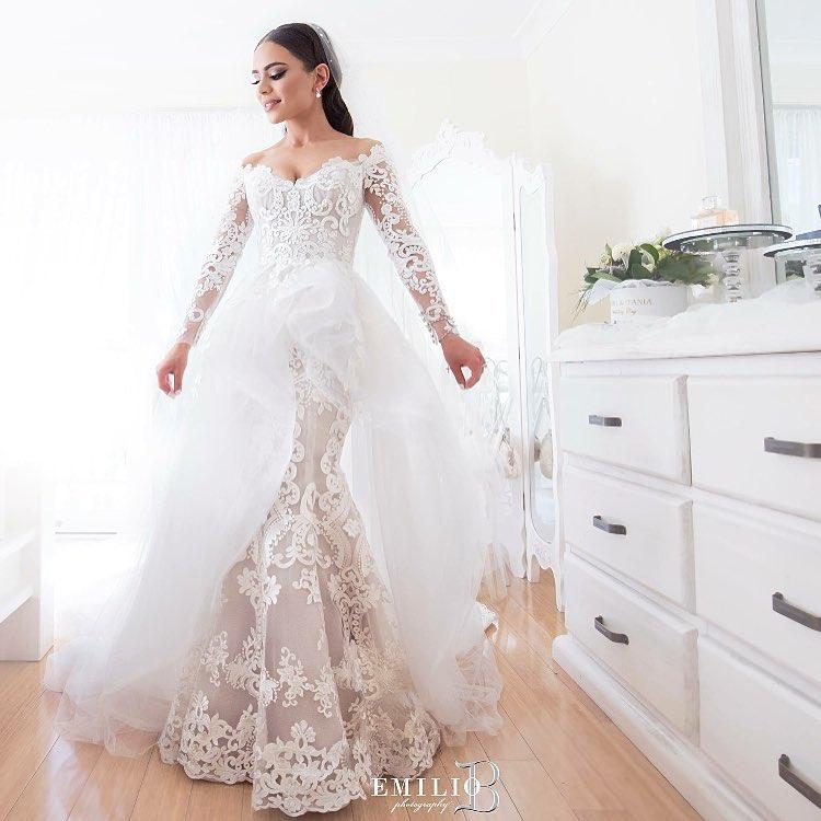 لباس عروس گیپور 2019