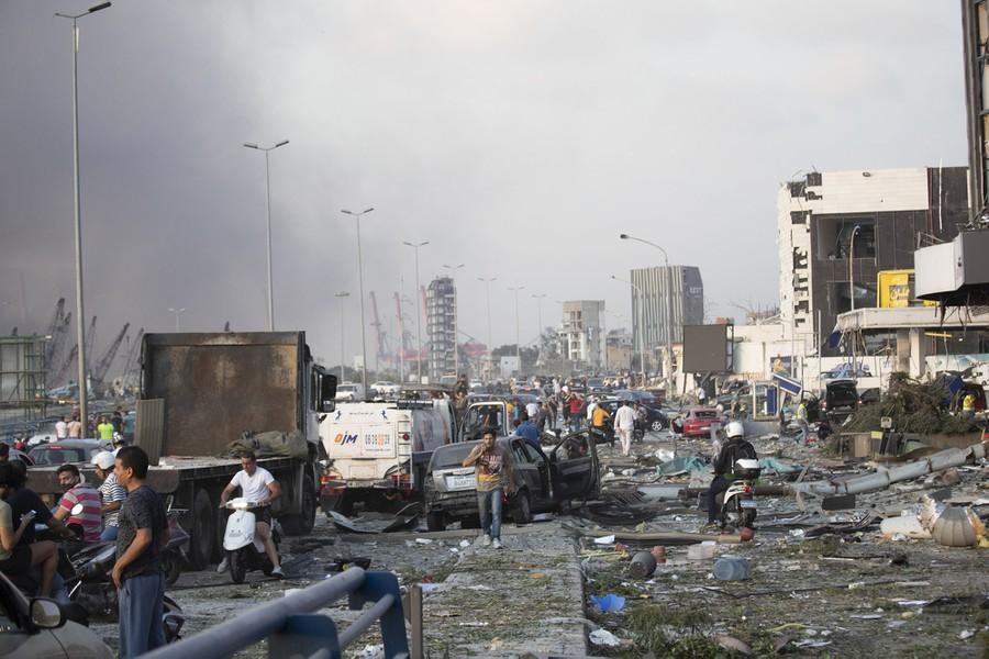 انفجار بیروت معادل یک زلزله 3.3 ریشتری ثبت گردید