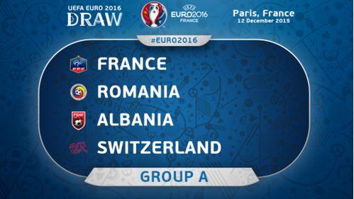 جدول و نتایج گروه A یورو 2016