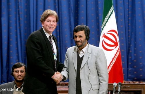 Duke and Ahmadinejad