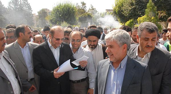 حاشیه مراسم افتتاح یکصد پروژه شهرداری منطقه ١٥