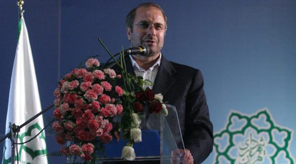 تقدیر نمایندگان مجلس شورای اسلامی از دکتر قالیباف