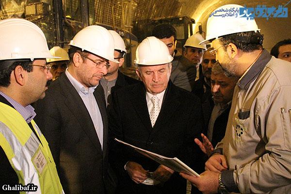 گزارش تصویری دیدار دکتر قالیباف با شهردار استامبول و بازدید از پروژه تونل نیایش