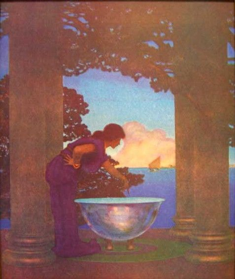 Circe's Palace by Maxfield Parrish