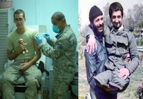 سرباز مسلمان و سرباز آمریکایی!