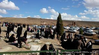 اولین روز سال1394گلزارشهدا و امامزاده خانیک