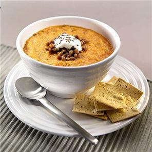 سوپ هویج و عدس