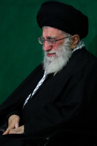 Imam Khamenei Mourns in Ashura 2014