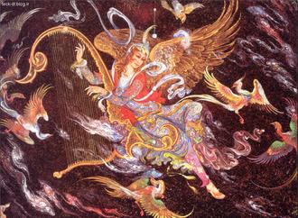 نقاشی استاد فرشچیان