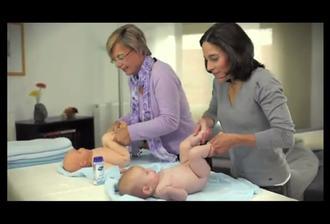 آموزش حرفه ای ماساژ نوزاد
