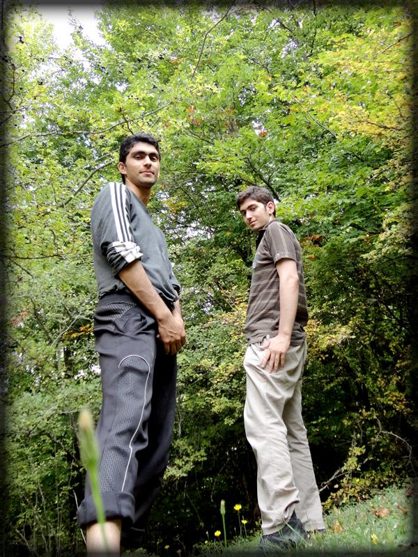 من ( پورطاهان ( سینا ) ) و محمد - لنگر - مهر 91