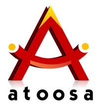 طراحی لوگو به صورت رایگان :: دیزاین وانلوگو برای سایت atoosa.in