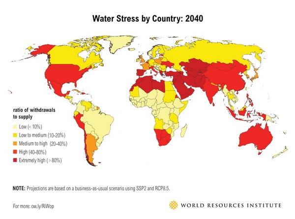 بحران آب در دنیا و مصرف آب کولینگ تاور