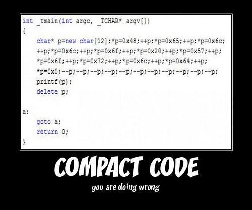 Compact code