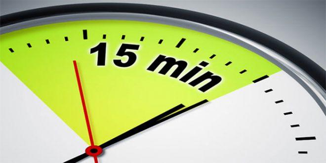 قانون ۱۵ دقیقه