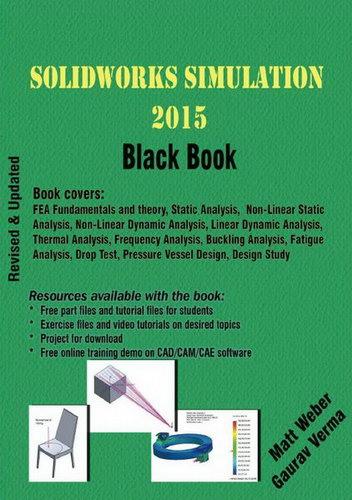 Solidworks simulation tutorial and training, Black book, PDF