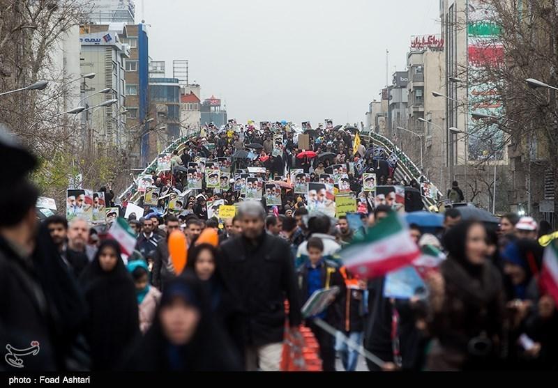 راهپیمایی یوم الله 22 بهمن - میدان فردوسی
