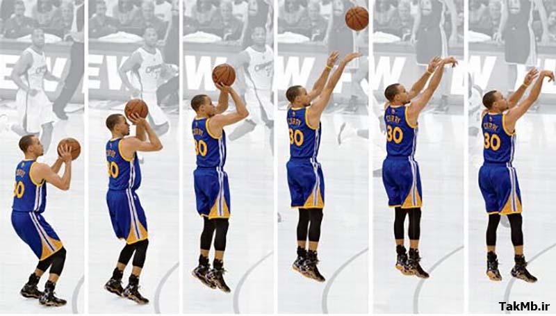 آموزش شوت سه امتیازی(Three point shooting)