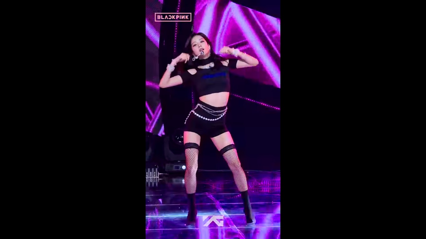اجرای جیسو | Jisoo در کنسرت DDU DU DDU DU