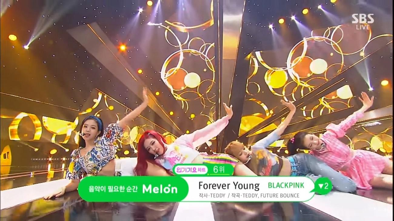 اجرای Forever Young از بلک پینک
