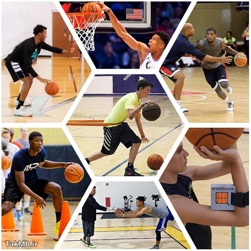 آموزش تخصصی بسکتبال - به صورت کامل و تصویری