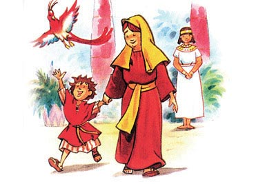 آیا حضرت موسی با غذای حرام رشد یافته؟