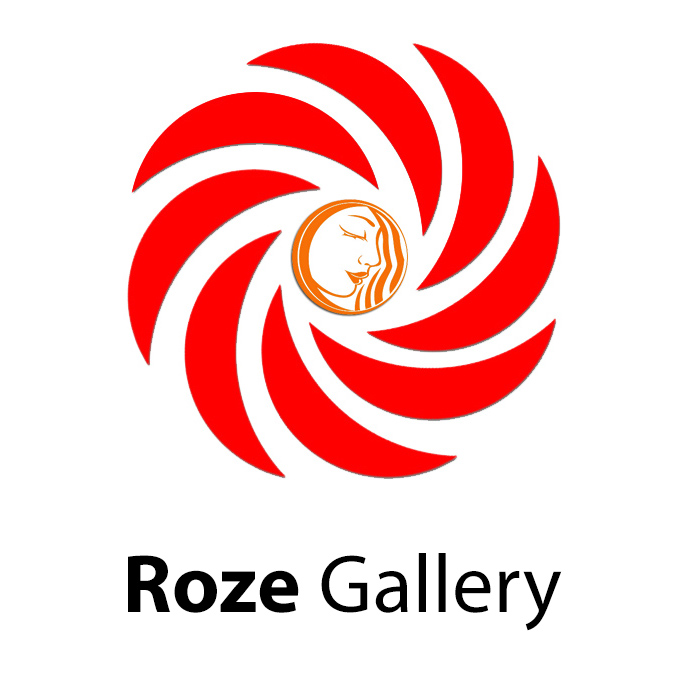 طراحی لوگوی گالری رز :: سید جمالدریافت در اندازه و کیفیت اصلی