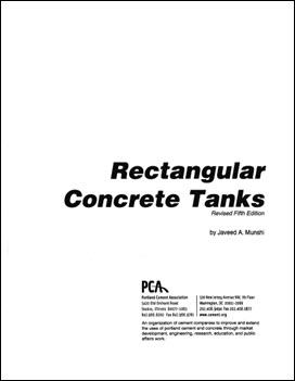 pca rectangular concrete tanks design manual pdf