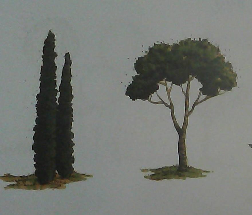 اموزش درست درخت چشم نظر طراحی و نقاشی درخت :: دبستانی ها - هنری - پرشنگ عبداللهی