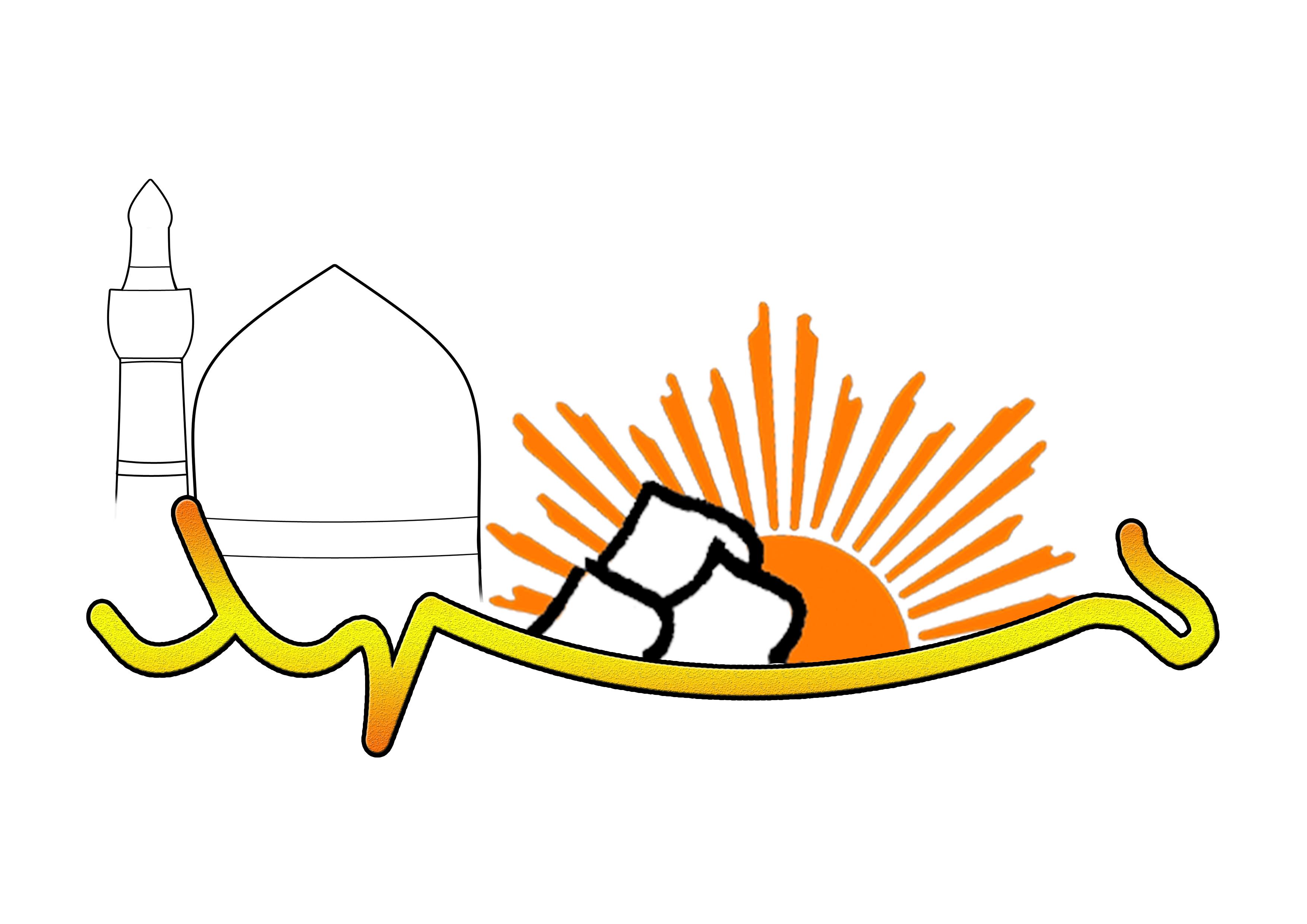 لوگو ی اردوی مشهد :: تیک تاکاین لوگو برای اردوی مشهد دوره 19 علامه حلی 2 طراحی شده