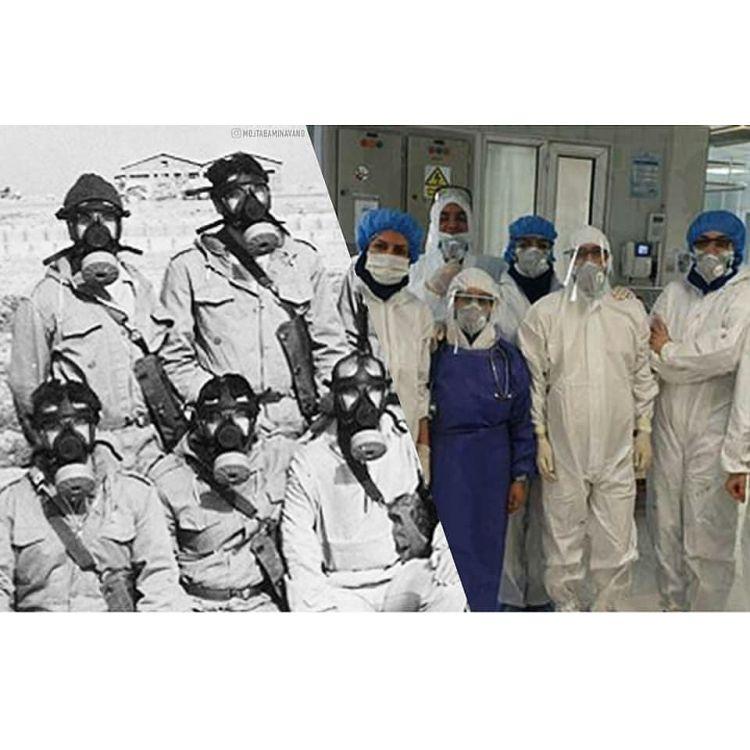 معنی شدن واژه «بسیج» در همراهی مدافعان سلامت/خدمت به بیماران در راس