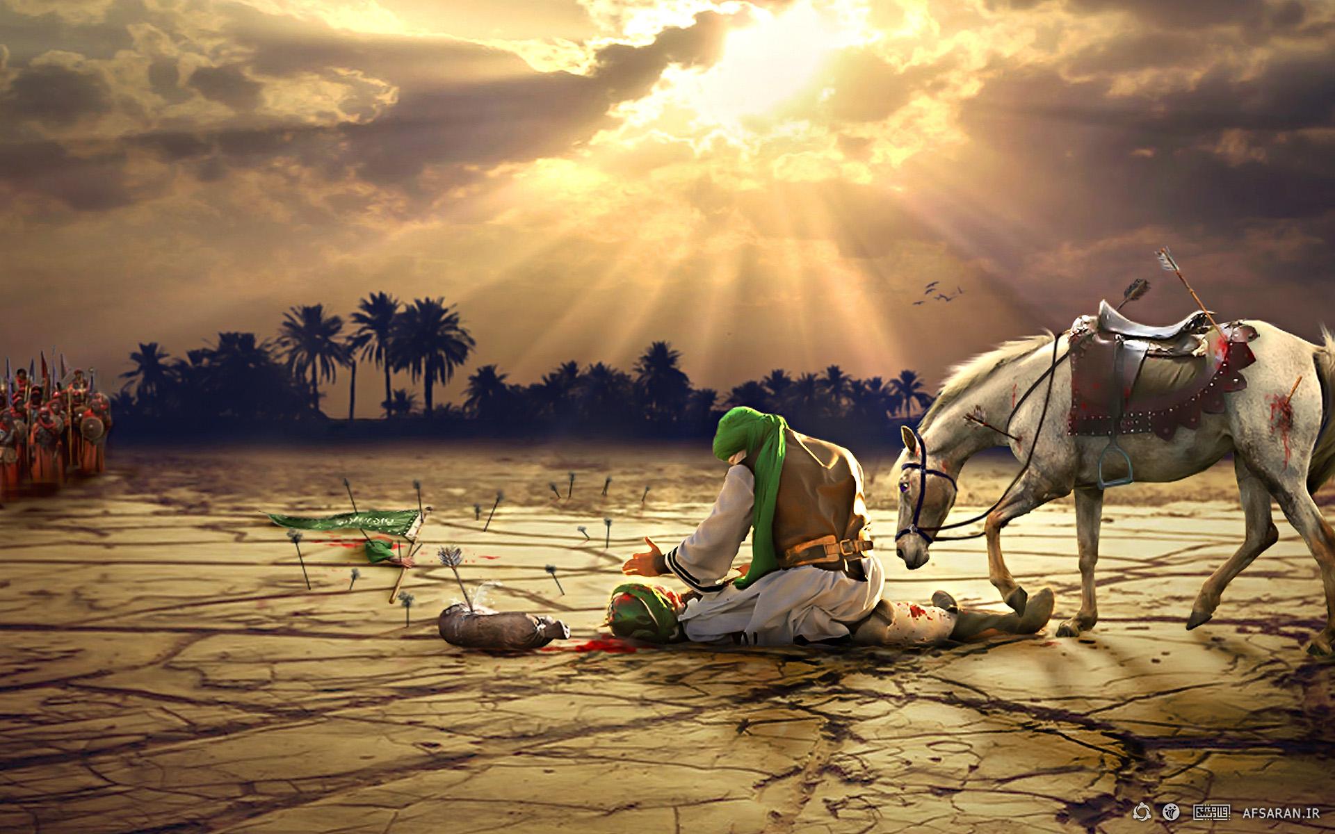 تصاویر واقعی حضرت عباس