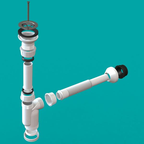 با رندر گرفتن مدل سه بعدی، نمای انفجاری یک محصول و اجزای تشکیل دهنده آن قابل نمایش است