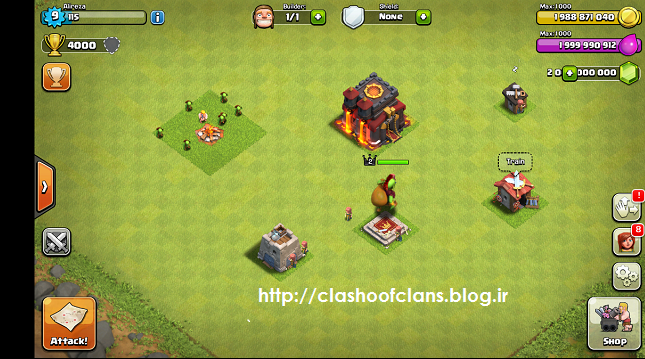 دانلود نسخه هک شده بازی clan tribe clash Clash of Clans Goblin King - Bing images