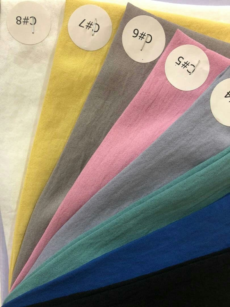 کرپ ابروبادی در 8 رنگ