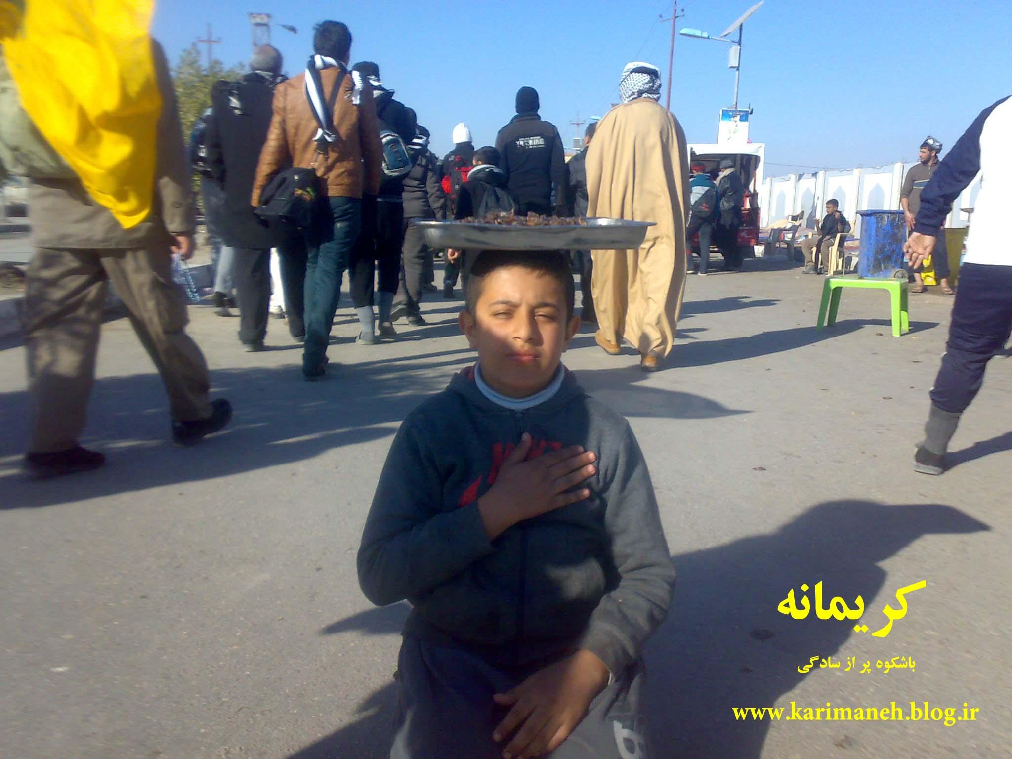 Image result for صحنه های جالب زائرین حسینی امسال عکس کربلا