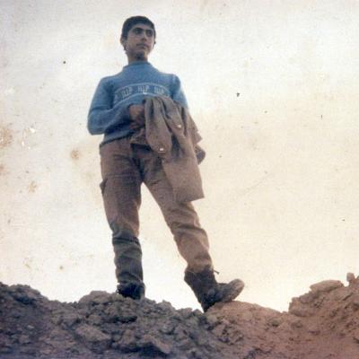 نوجوان شهید محمدحسن شعبانی نکا شلمچه