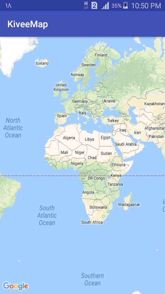 Google Maps - قدم های اولیه